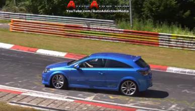 Opel Astra OPC accidente Nürburgring