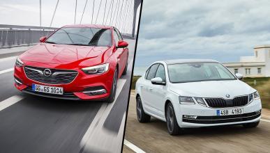 Opel Insignia vs Skoda Octavia