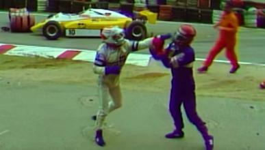 Pelea Piquet y Salazar