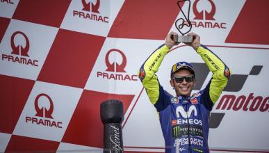 Valentino Rossi se reafirma en la 2ª posición de MotoGP