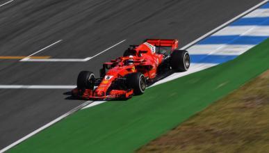 Vettel pole Alemania