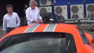 VÍDEO: James May lleva a Richard Hammond en su Ferrari 458 Speciale