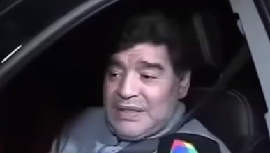 VÍDEO: Maradona conduce en estado de embriaguez