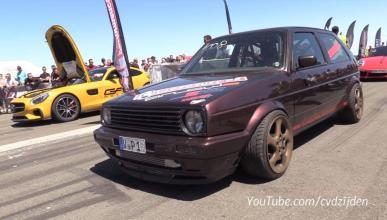 Volkswagen Golf MkII 332 kmh