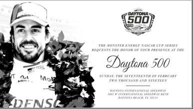 Alonso Daytona 500