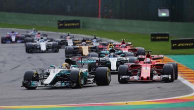 Horarios F1 Bélgica