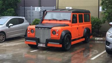 Land Rover Defender tuneado