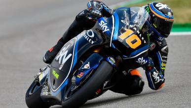 Luca Marini, el más rápido de la Clasificación Moto2 Brno 2018