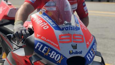 Nuevos apéndices aerodinámicos para Jorge Lorenzo y Ducati en Brno