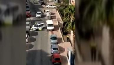 Persecuciòn en Málaga