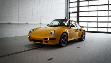 Porsche 993 Turbo Project Gold