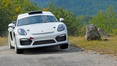 Porsche Cayman GT4 Clubsport Rallye concept