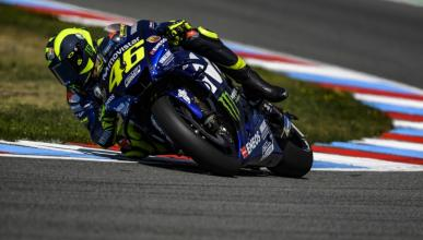 Rossi manda en los Libres 3 MotoGP Brno 2018