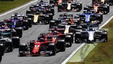 Salida GP Italia 2017