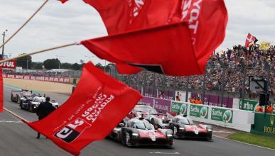 Victoria de Alonso en Le Mans