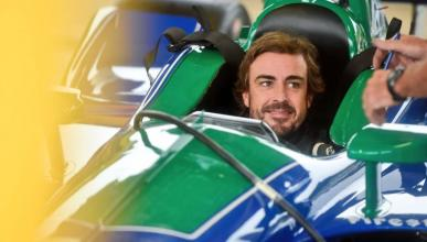 Alonso test Indy