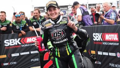 Ana Carrasco, campeona del mundo de Supersport 300