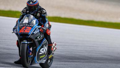 Bagnaia logra la pole en la Clasificación Moto2 Misano 2018