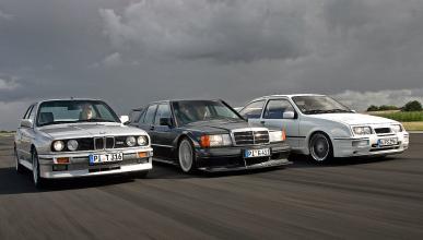 BMW M3, Ford Sierra RS Cosworth, Mercedes 190 E 2.5-16 Evo II