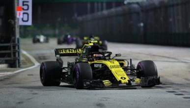Carlos Sainz en el GP de Singapur