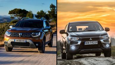Dacia Duster vs Mitsubishi ASX 2018