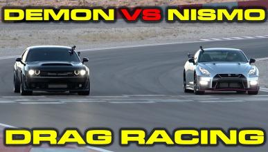 Dodge Demon vs Nissan GT-R Nismo