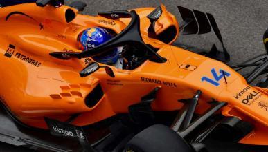 Fernando Alonso en los entrenamientos de Rusia