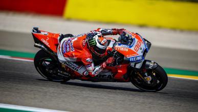 Jorge Lorenzo domina la Clasificación MotoGP Aragón 2018