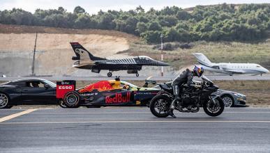 Kawasaki H2R vence en una drag race espectacular
