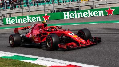 Kimi Räikkönen en Monza