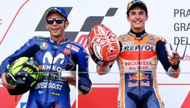 Márquez quiere hacer las paces con Valentino Rossi