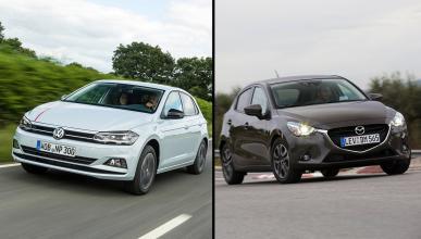 Mazda2 2018 vs Volkswagen Polo