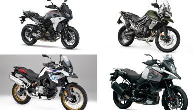 Motos trail nuevas por menos de 12.000 euros