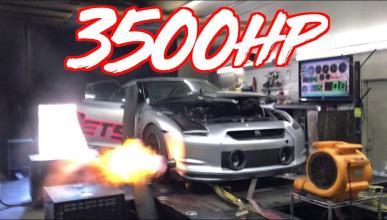 Nissan GT-R de 3.500 CV