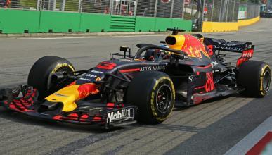 Ricciardo en el GP de SIngapur