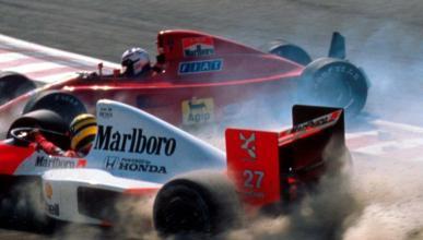 Senna y Prost 1990