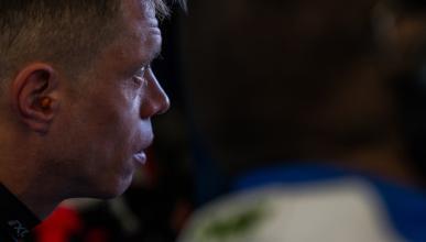 Tito Rabat habla tras su accidente en Silverstone