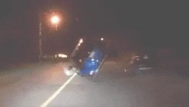 Toyota RAV4 accidente