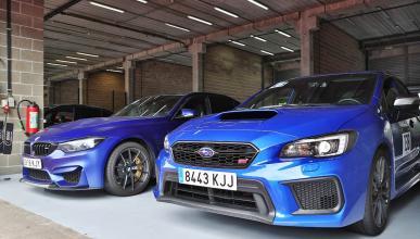 Viaje a Spa Francorchamps con BMW y Subaru