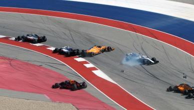 Accidente de Alonso en EEUU