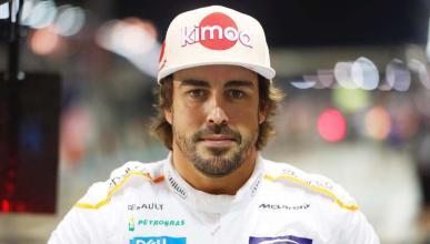 Alonso en el GP de Japón