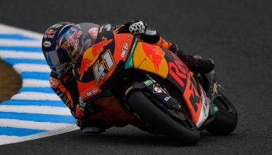 Brad Binder lidera los Libres Moto2 Australia 2018