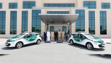 Chevrolet Bolt EV Policia Dubai