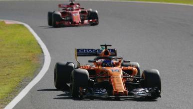 Fernando Alonso en el GP de Japón