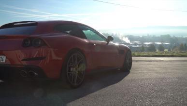 Ferrari GTC4Lusso escape Novitec