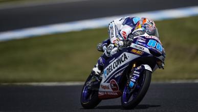 Jorge Martín domina la Clasificación Moto3 Australia 2018