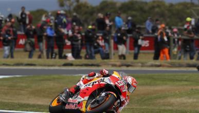 Marc Márquez domina la Clasificación MotoGP Australia 2018