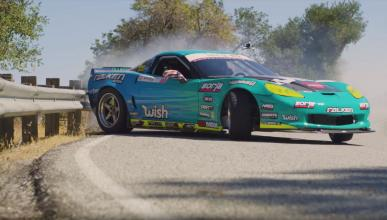 Matt Field Corvette Drift