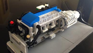Motor Ford Falcon Lego