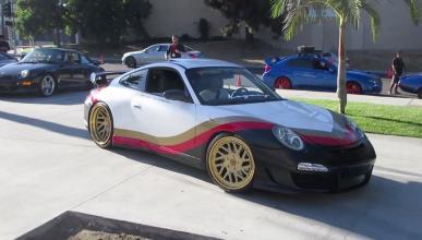 Porsche 911 con motor Corvette